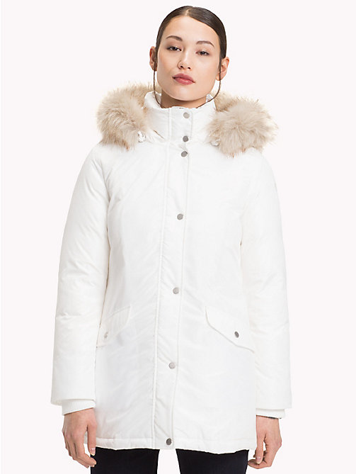 TOMMY HILFIGER Parka en duvet - SNOW WHITE - TOMMY HILFIGER Sustainable Evolution - image principale