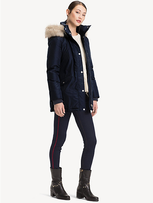 TOMMY HILFIGER Down Parka - MIDNIGHT - TOMMY HILFIGER Coats - detail image 1