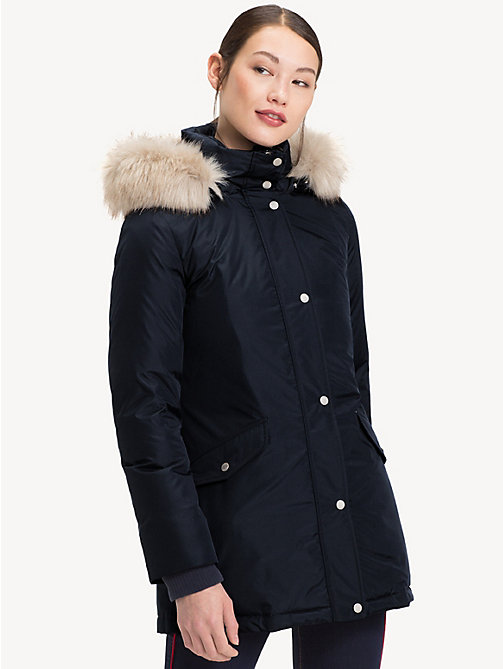 TOMMY HILFIGER Down Parka - MIDNIGHT - TOMMY HILFIGER Sustainable Evolution - main image