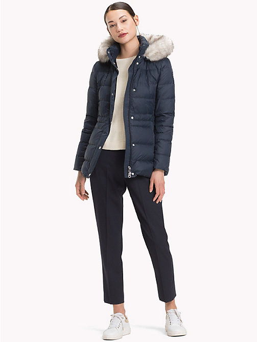TOMMY HILFIGER Padded Down Jacket - MIDNIGHT - TOMMY HILFIGER Sustainable Evolution - detail image 1