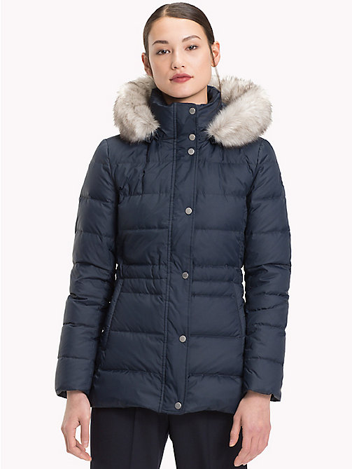 TOMMY HILFIGER Padded Down Jacket - MIDNIGHT - TOMMY HILFIGER Sustainable Evolution - main image