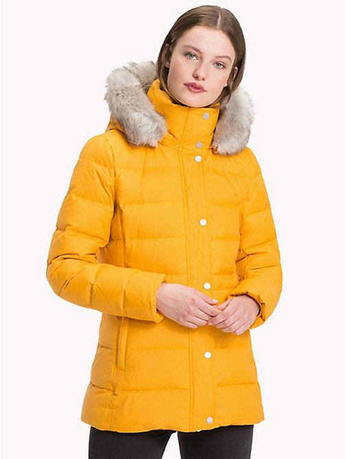 TOMMY HILFIGER Padded Down Jacket - SUNFLOWER - TOMMY HILFIGER Sustainable Evolution - main image