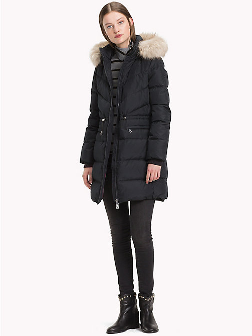 TOMMY HILFIGER Down Coat - BLACK BEAUTY - TOMMY HILFIGER Sustainable Evolution - detail image 1