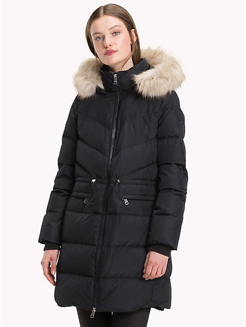 TOMMY HILFIGER Down Coat - BLACK BEAUTY - TOMMY HILFIGER Sustainable Evolution - main image