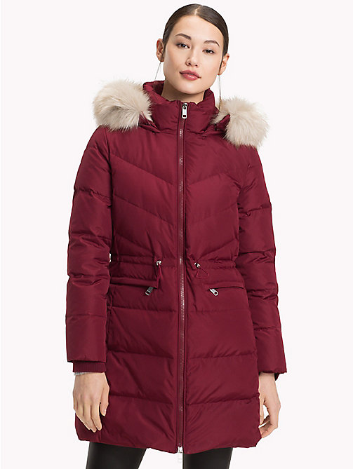 TOMMY HILFIGER Manteau en duvet - CABERNET - TOMMY HILFIGER Sustainable Evolution - image principale