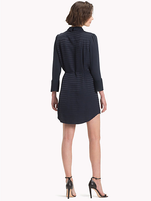 TOMMY HILFIGER Stripe Weave Shirt Dress - 413-MIDNIGHT - TOMMY HILFIGER NEW IN - detail image 1