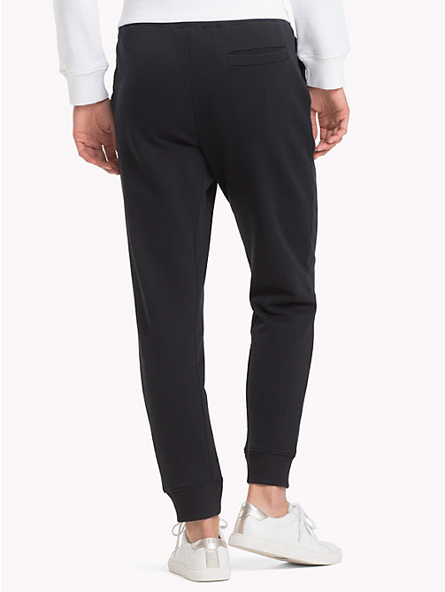 TOMMY HILFIGER Sweatpants met logotape - BLACK BEAUTY - TOMMY HILFIGER Broeken - detail image 1