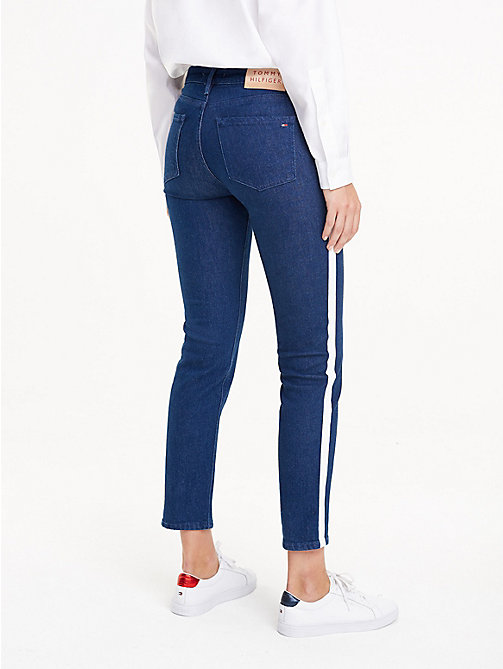 TOMMY HILFIGER Side Stripe Slim Fit Jeans - BRIGITTA - TOMMY HILFIGER Sale Women - detail image 1