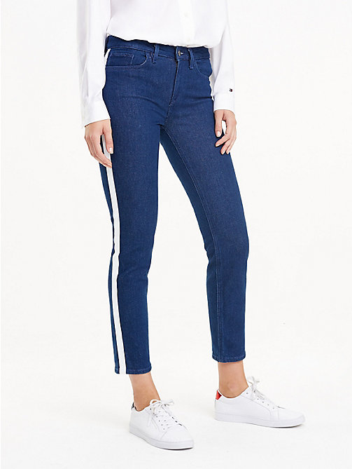 TOMMY HILFIGER Side Stripe Slim Fit Jeans - BRIGITTA - TOMMY HILFIGER Black Friday Women - main image