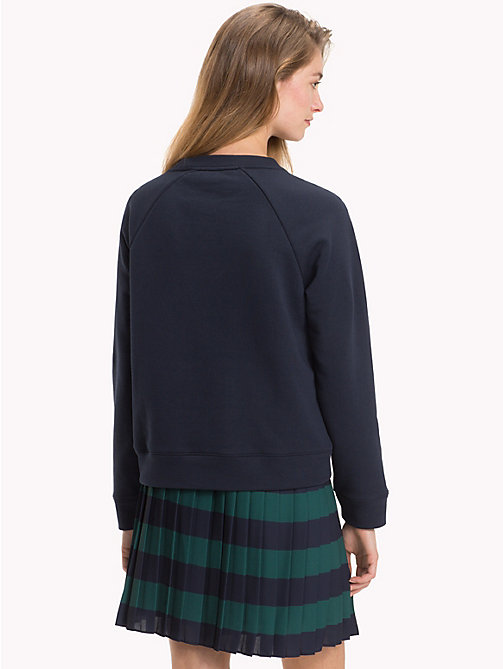 TOMMY HILFIGER Monogramm-Sweatshirt - MIDNIGHT - TOMMY HILFIGER NEW IN - main image 1