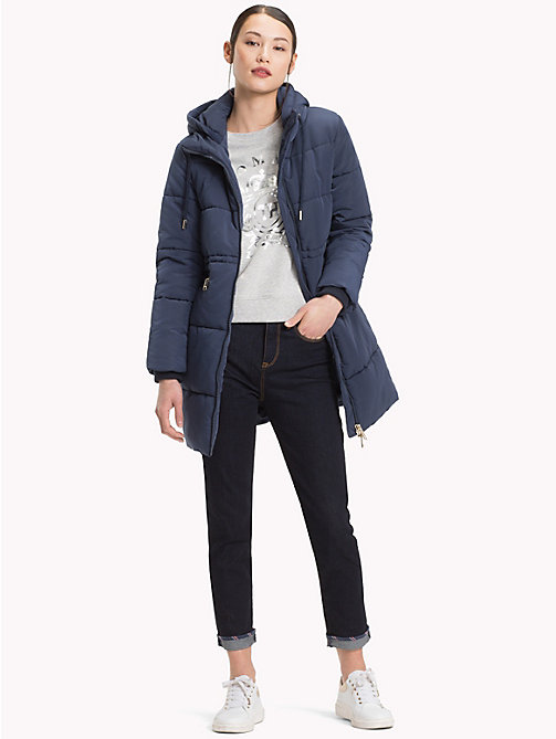 TOMMY HILFIGER Essential-Parka - MOOD INDIGO - TOMMY HILFIGER Sustainable Evolution - main image 1