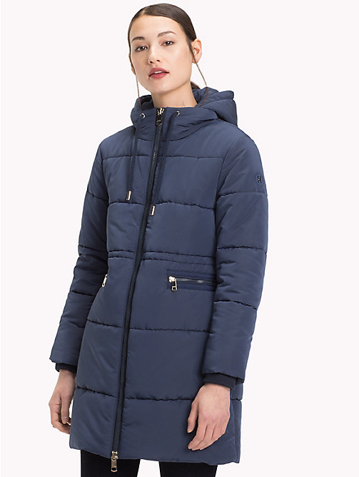TOMMY HILFIGER Essential parka - MOOD INDIGO - TOMMY HILFIGER Sustainable Evolution - main image
