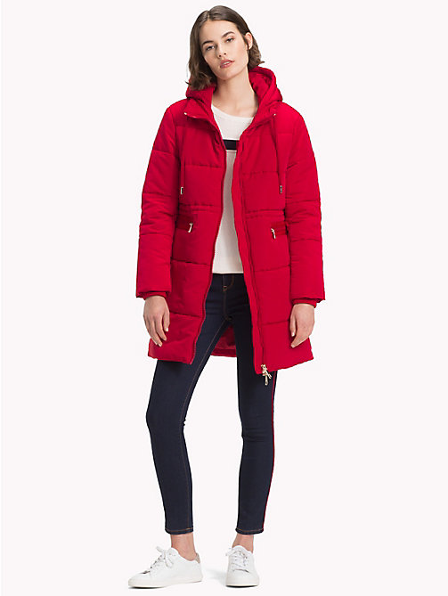 TOMMY HILFIGER Essential-Parka - JESTER RED - TOMMY HILFIGER Sustainable Evolution - main image 1