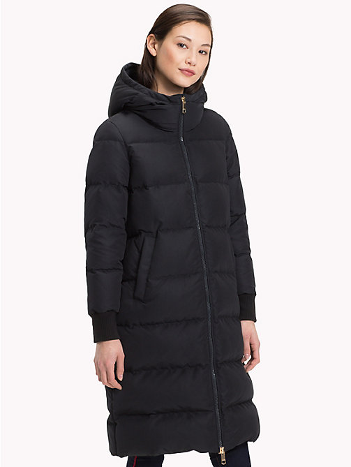 TOMMY HILFIGER Padded Down Coat - BLACK BEAUTY - TOMMY HILFIGER Sustainable Evolution - main image