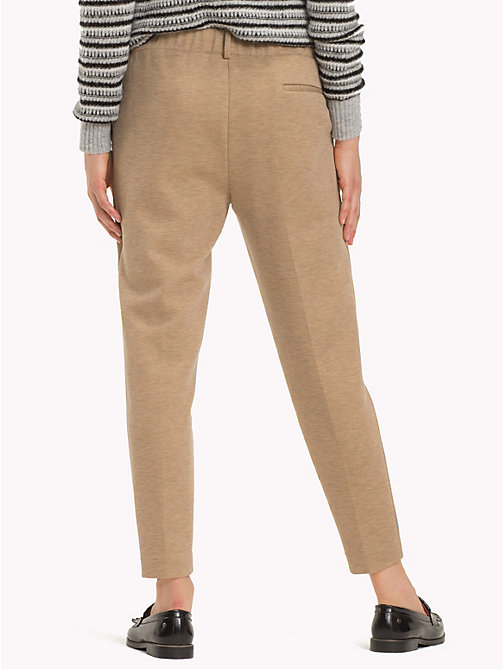 TOMMY HILFIGER Pull-On Cropped Trousers - CLASSIC CAMEL - TOMMY HILFIGER Black Friday Women - detail image 1
