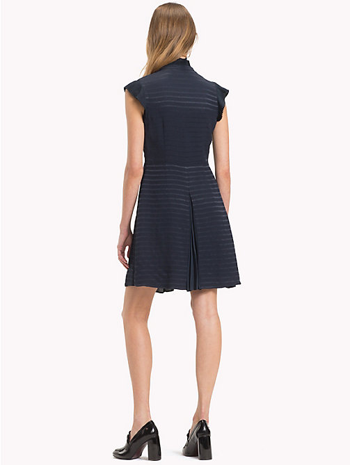 TOMMY HILFIGER Slim Stripe Weave Dress - 413-MIDNIGHT - TOMMY HILFIGER Something Special - detail image 1