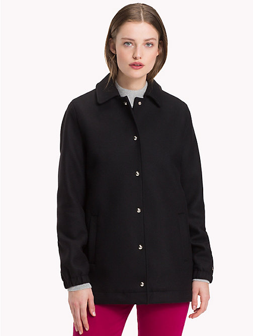 TOMMY HILFIGER Coach Jacket - BLACK BEAUTY - TOMMY HILFIGER Jackets - main image