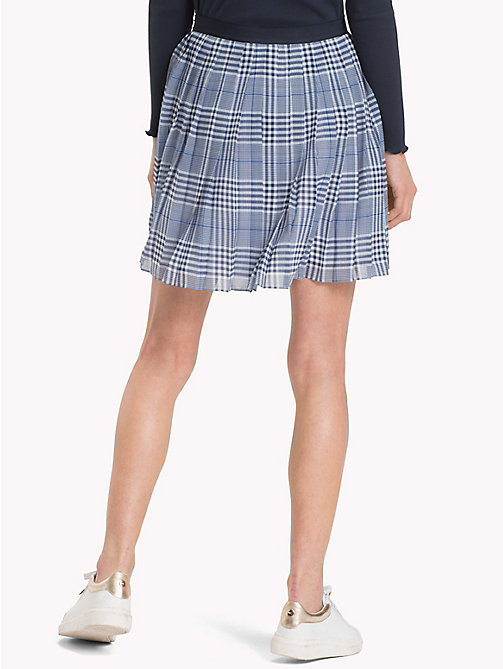 TOMMY HILFIGER Pleated Check Mini Skirt - PRINCE OF WALES POP - TOMMY HILFIGER Skirts - detail image 1