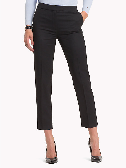 TOMMY HILFIGER Stretch Slim Fit Trousers - BLACK BEAUTY - TOMMY HILFIGER Clothing - main image