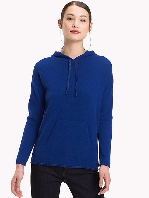 TOMMY HILFIGER Pullover Hoody - MAZARINE BLUE - TOMMY HILFIGER Jumpers - main image
