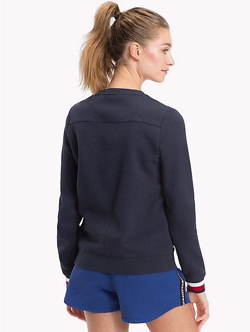 TOMMY HILFIGER Statement Cuff Sweatshirt - MIDNIGHT - TOMMY HILFIGER Clothing - detail image 1