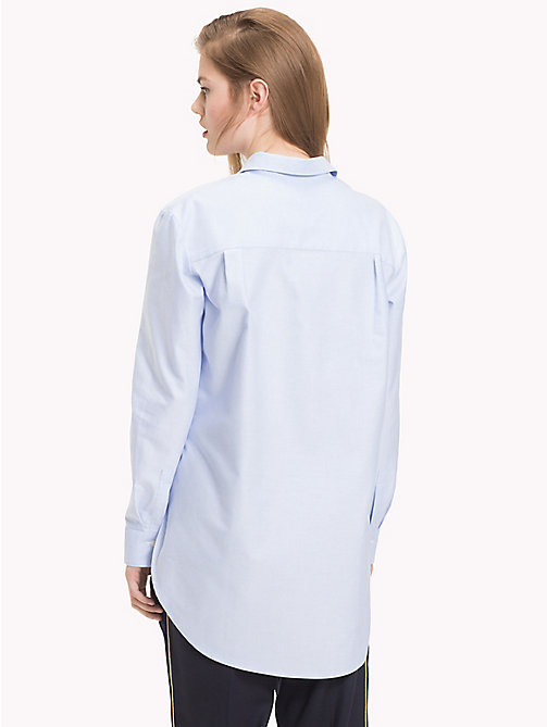 TOMMY HILFIGER Свободная рубашка Tommy Icons - SHIRT BLUE - TOMMY HILFIGER TOMMY ICONS - подробное изображение 1