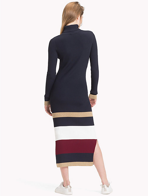 TOMMY HILFIGER Tommy Icons Stripe Dress - MIDNIGHT MULTI - TOMMY HILFIGER TOMMY NOW WOMEN - detail image 1