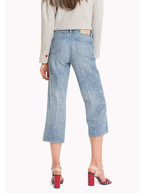 TOMMY HILFIGER Heart Print Cropped Jeans - CAROLINE -  Kleidung - main image 1