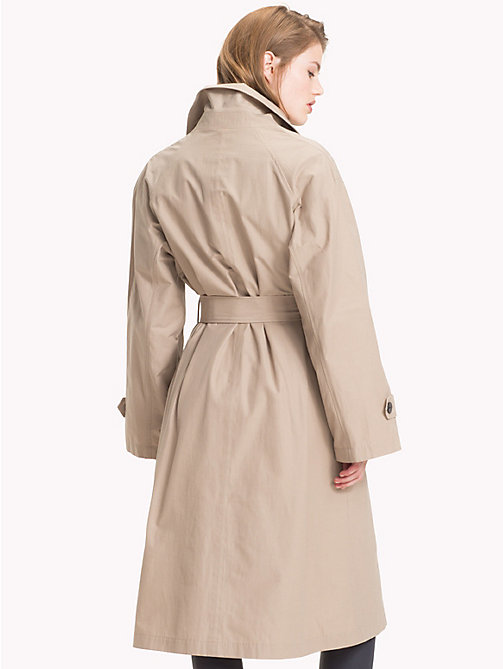 TOMMY HILFIGER Tommy Icons Organic Cotton Trench - CLASSIC CAMEL - TOMMY HILFIGER TEST PARENT - detail image 1