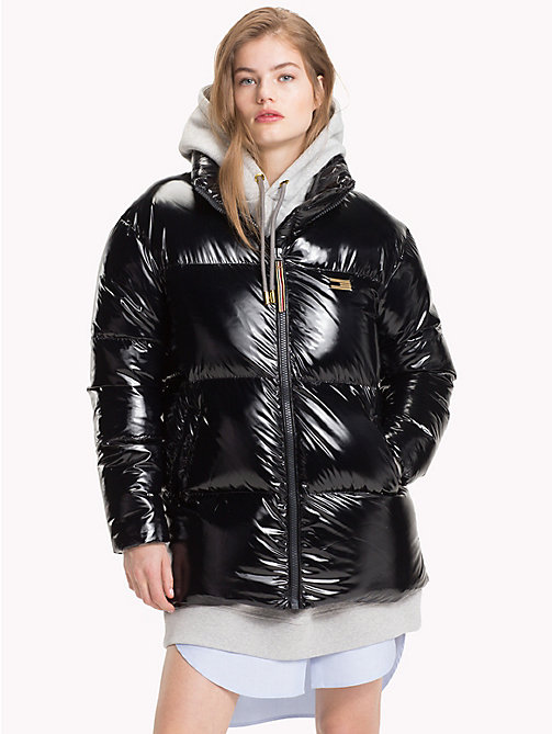 TOMMY HILFIGER Tommy Icons Puffer Jacket - BLACK BEAUTY - TOMMY HILFIGER TOMMY ICONS - main image