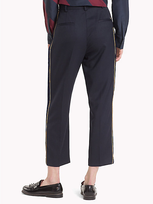 TOMMY HILFIGER Tommy Icons cropped broek - MIDNIGHT - TOMMY HILFIGER TOMMY ICONS - detail image 1