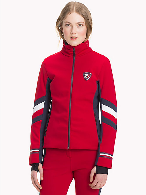 TOMMY HILFIGER Rossignol Soft Shell Jacket - APPLE RED / GLOBAL STP - TOMMY HILFIGER TOMMYXROSSIGNOL - main image