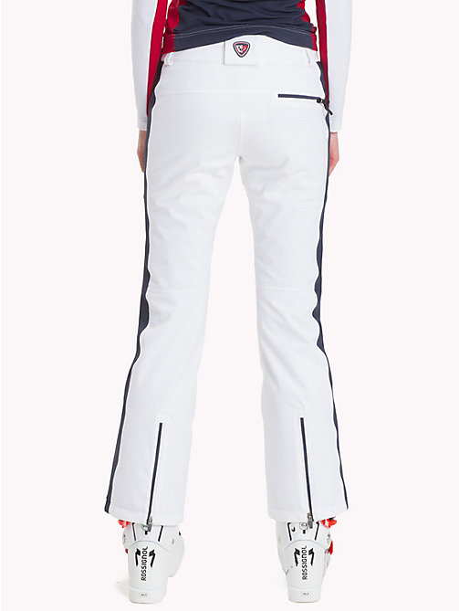 TOMMY HILFIGER Rossignol Chevron Pants - CLASSIC WHITE / GLOBAL STP - TOMMY HILFIGER TOMMYXROSSIGNOL - detail image 1