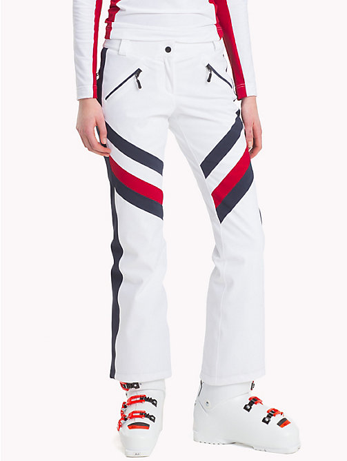 TOMMY HILFIGER Rossignol Chevron Pants - CLASSIC WHITE / GLOBAL STP - TOMMY HILFIGER TOMMYXROSSIGNOL - main image
