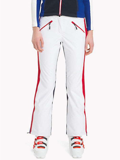 TOMMY HILFIGER Rossignol Signature Tape Pants - CLASSIC WHITE / SKY CAPTAIN - TOMMY HILFIGER TOMMYXROSSIGNOL - main image