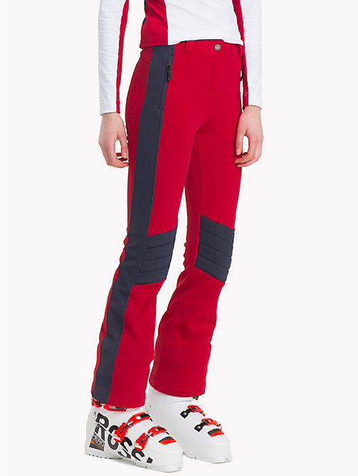 TOMMY HILFIGER Rossignal Soft Shell Pants - APPLE RED / SKY CAPTAIN - TOMMY HILFIGER TOMMYXROSSIGNOL - main image