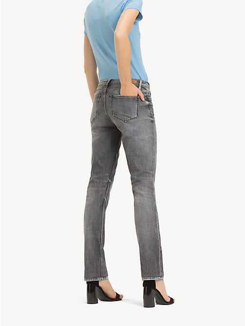 TOMMY HILFIGER Straight Fit Jeans mit unvernähtem Saum - PHOENIX -  NEW IN - main image 1