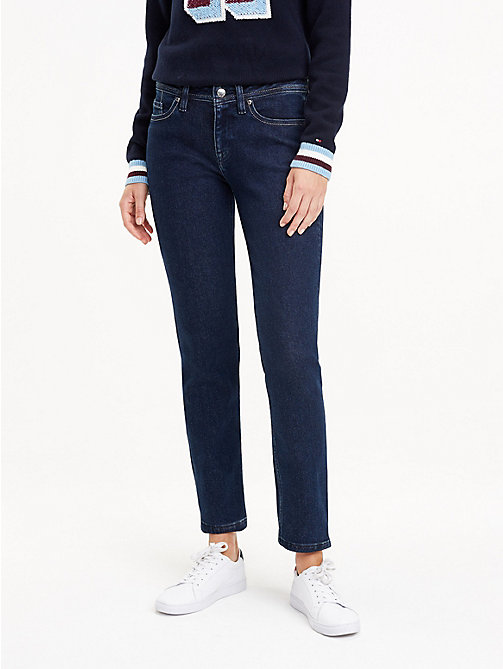 NEW TOMMY HILFIGER Straight Fit Stretch Jeans - MORIA - TOMMY HILFIGER  Straight-Fit Jeans ... d02aeaebd6