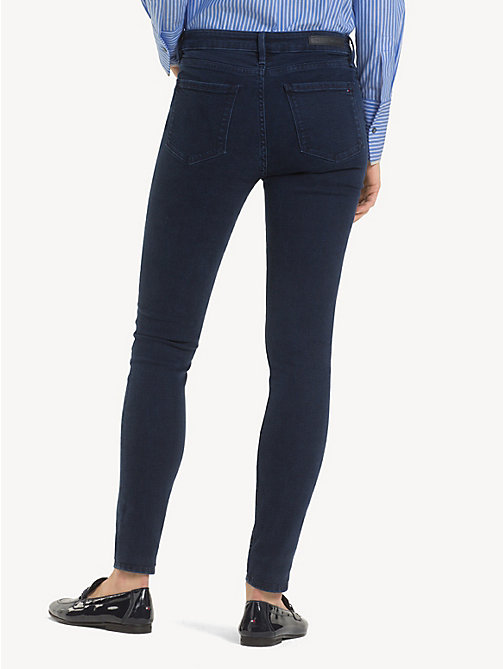 TOMMY HILFIGER Chain Detail Skinny Fit Jeans - ASTRA - TOMMY HILFIGER Party Looks - detail image 1