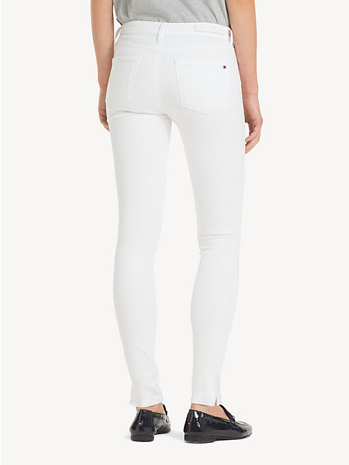 TOMMY HILFIGER Ankle Length Skinny Fit Jeans - CLASSIC WHITE - TOMMY HILFIGER NEW IN - detail image 1