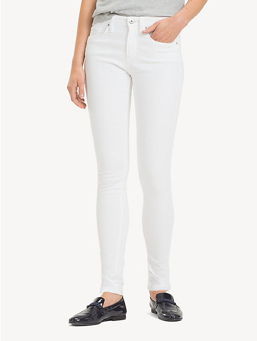TOMMY HILFIGER Ankle Length Skinny Fit Jeans - CLASSIC WHITE - TOMMY HILFIGER NEW IN - main image