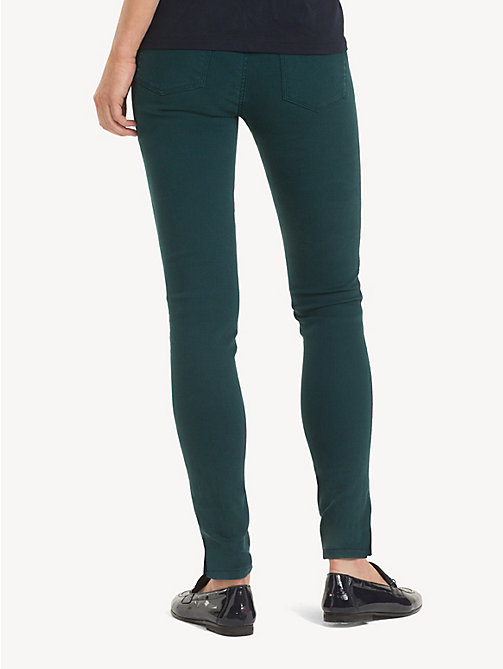 TOMMY HILFIGER Ankle Length Skinny Fit Jeans - PONDEROSA PINE - TOMMY HILFIGER Skinny Jeans - detail image 1