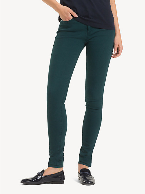 TOMMY HILFIGER Ankle Length Skinny Fit Jeans - PONDEROSA PINE - TOMMY HILFIGER Skinny Jeans - main image