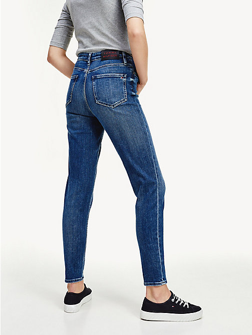 TOMMY HILFIGER Enkellange mom fit jeans - LILITH - TOMMY HILFIGER Girlfriend jeans - detail image 1