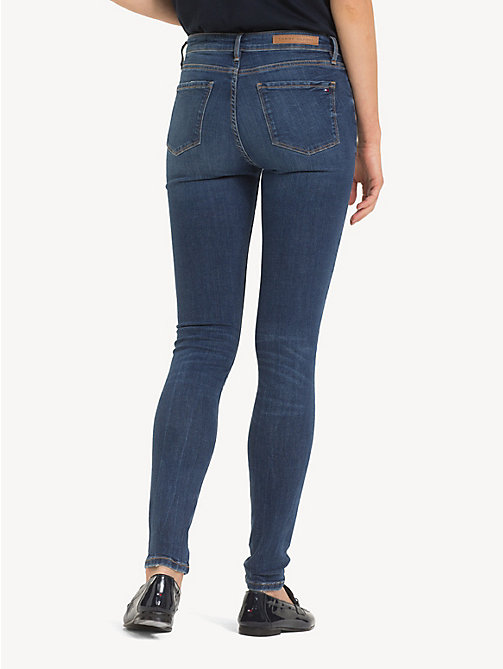 TOMMY HILFIGER Skinny fit jeans met fading - VENUS - TOMMY HILFIGER Skinny fit jeans - detail image 1
