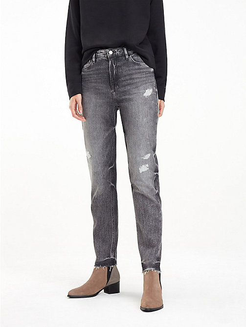 TOMMY HILFIGER Mom Fit Ankle Jeans - PHOEBE - TOMMY HILFIGER Girlfriend Jeans - main image
