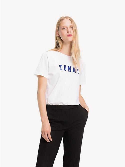 7a7ab23d07801 -40% TOMMY HILFIGER T-shirt à logo en jersey de coton - CL.