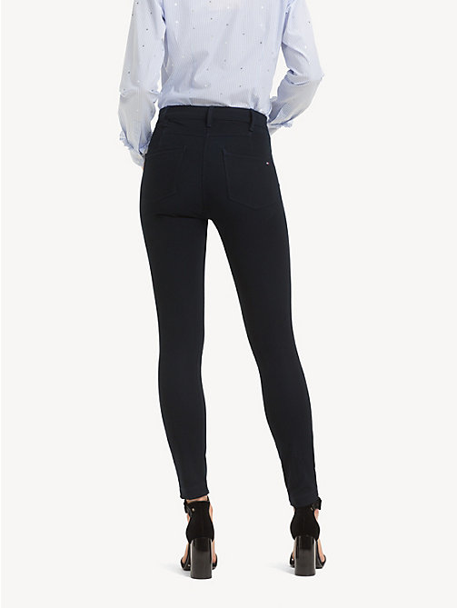 TOMMY HILFIGER Skinny Fit Trousers - MIDNIGHT - TOMMY HILFIGER Cropped Trousers - detail image 1