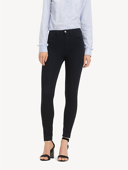 TOMMY HILFIGER Skinny Fit Trousers - MIDNIGHT - TOMMY HILFIGER Cropped Trousers - main image