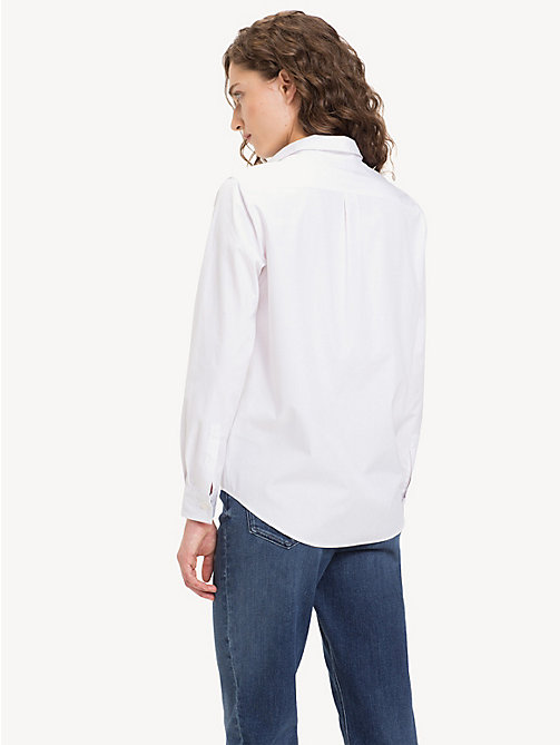 TOMMY HILFIGER Relaxed Fit Shirt - CLASSIC WHITE - TOMMY HILFIGER NEW IN - main image 1